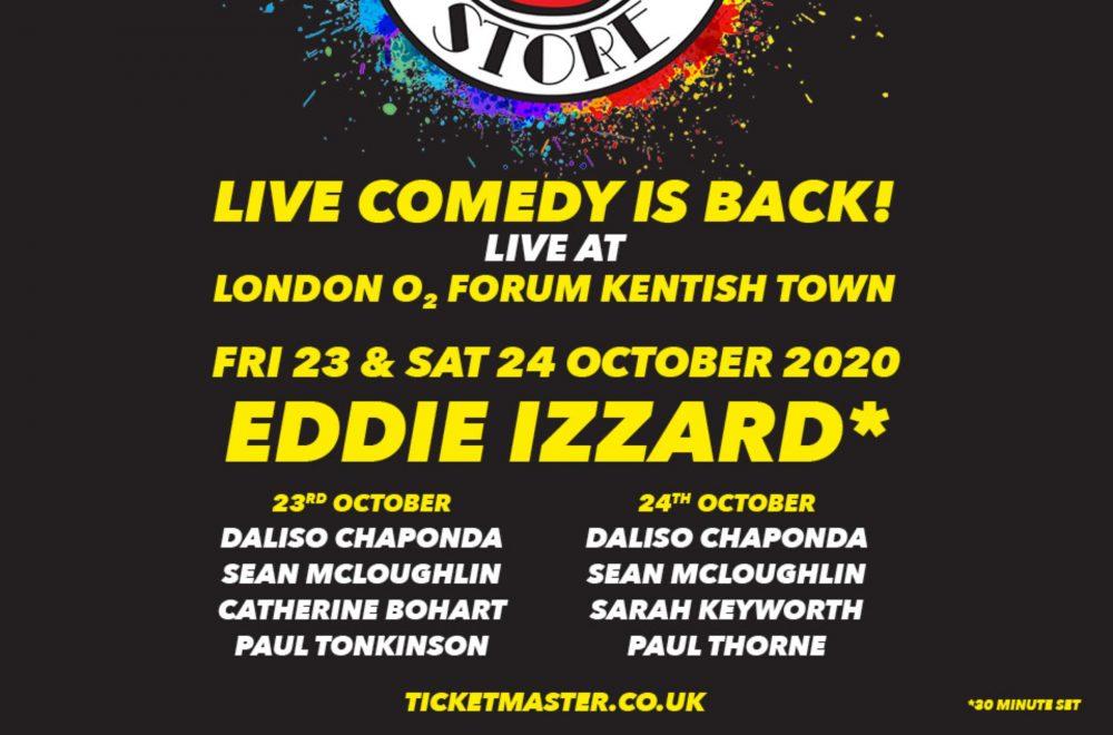 Live Comedy at O2 Forum